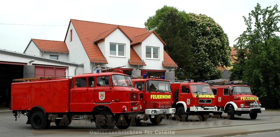 Colditzer FFW-Fahrzeuge