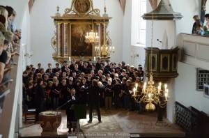 Der Thomanerchor im Altarraum