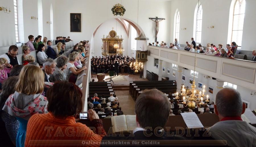 Gottesdienst in der St. Egidienkirche Colditz