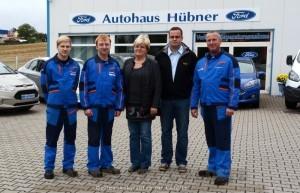 Team vom  Autohaus Hübner