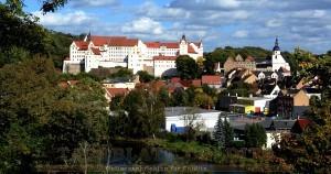 Blick vom Drechslerhaus auf die Stadt