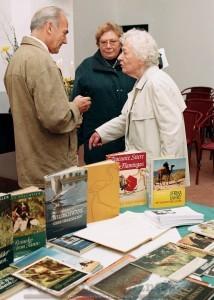 Buchlesung mit seiner Witwe Gretel und Dr. Dr. Möbius im Schloss Colditz