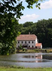 Das Teichhaus, der Eingang zum Kohlbachtal