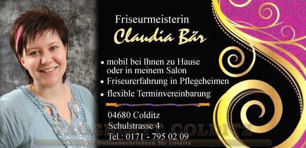 Friseurmeisterin Claudia Bär
