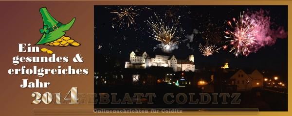 Neujahrgruss aus Colditz