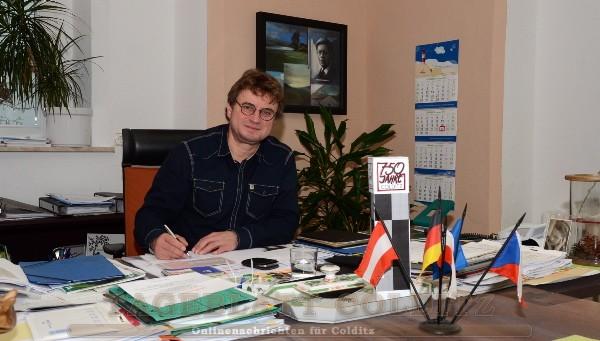 Bürgermeister Matthias Schmiedel
