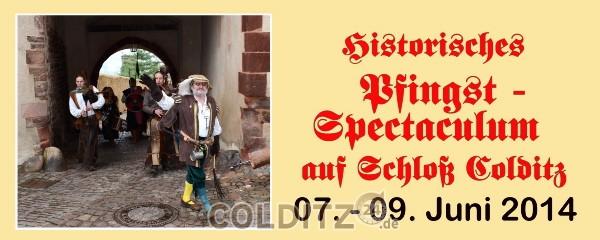Pfingsten auf Schloss Colditz