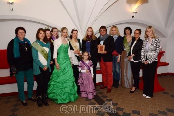 Empfang der Birkenköniginnen im Rathaus