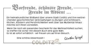 "Buch ""Colditz"""