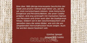 "Flyer Buch ""Colditz"""