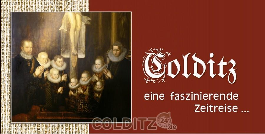 """Flyer zum Buch """"Colditz"""""""