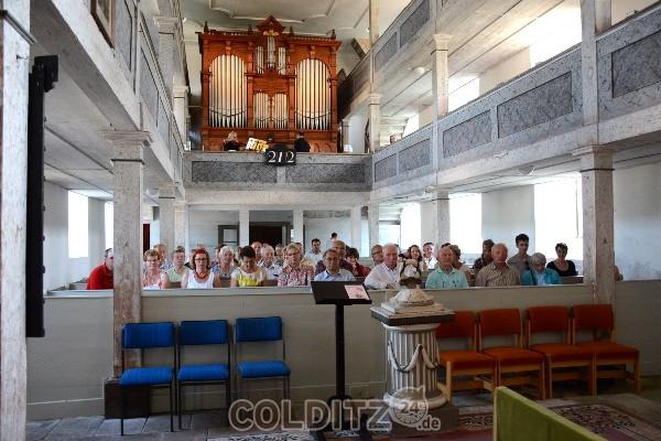 Tag der offenen Kirchen 2015 in Erlbach