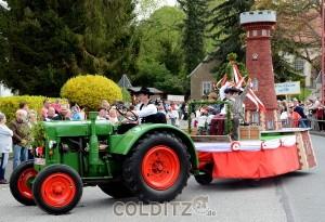 Heimatfest 1901 -  Der Bau des Heimatturmes