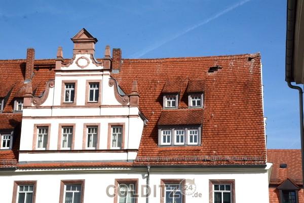 Dachschaden am Schlosscafe