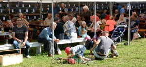 Ein kleines Volksfest der besonderen Art