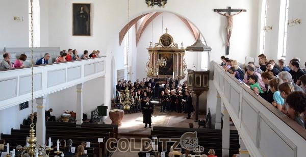 Der Leipziger Thomanerchor in der Colditzer Stadtkirche
