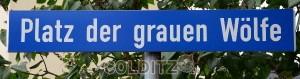 Amtlicher Straßenname in Colditz / OT Zollwitz