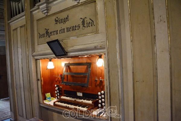 1865 - vor 150 Jahren wurde die Orgel in der  2 Jahre vorher errichteten neuen Kirche eingeweiht