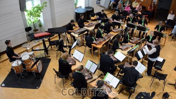 Das Sächsische Zitherorchester in Colditz