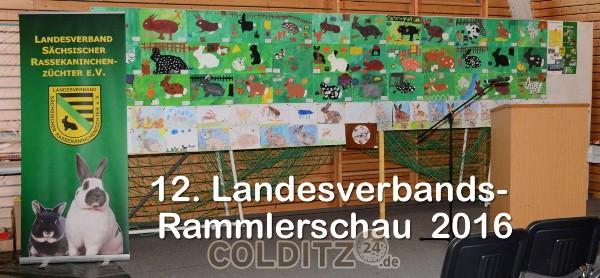 """Kleinbühne der Rammlerschau 2016 in der """"Arche"""" Hausdorf"""