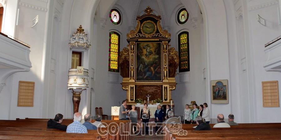 Ein Ständchen in der Moritzburger Kirche