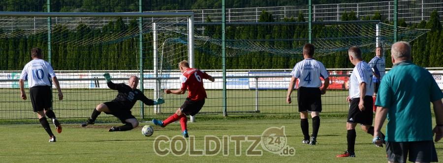 Abschiedsspiel SV Eintracht sermuth - Kluges Als-Star-Team gegen die AH-Mannschaft