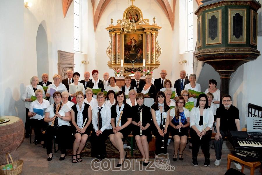 Die Colditzer Kantorei und der Flötenkreis