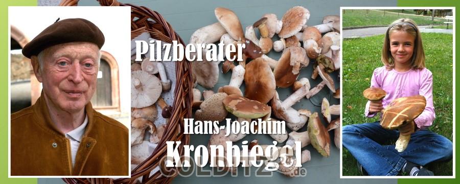 Hans-Joachim Kronbiegel - 46 Jahre Pilzberater