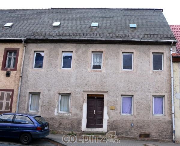 Das Geburtshaus Helmut Drechslers in der Dresdener Straße