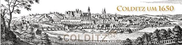Alter Stadtstich von Colditz