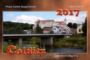 Der Colditz-Kalender mit seinem Oflag IV C als englische Version