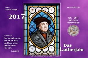 Unser Kirchenkalender 2017 - voll dem Lutherjahr gewidmet