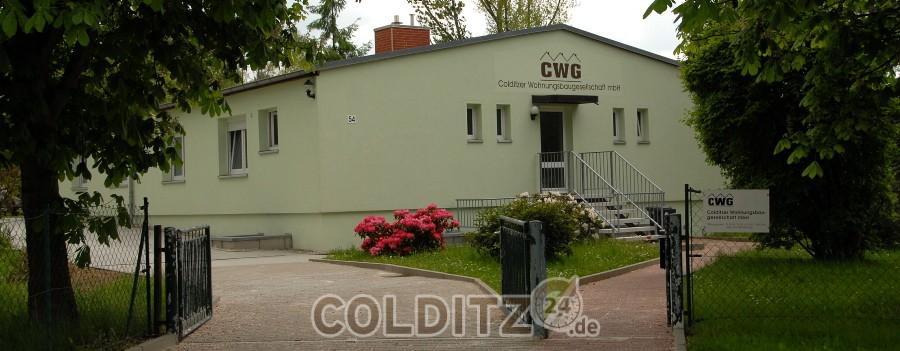 Das Verwaltungsgebäude der CWG