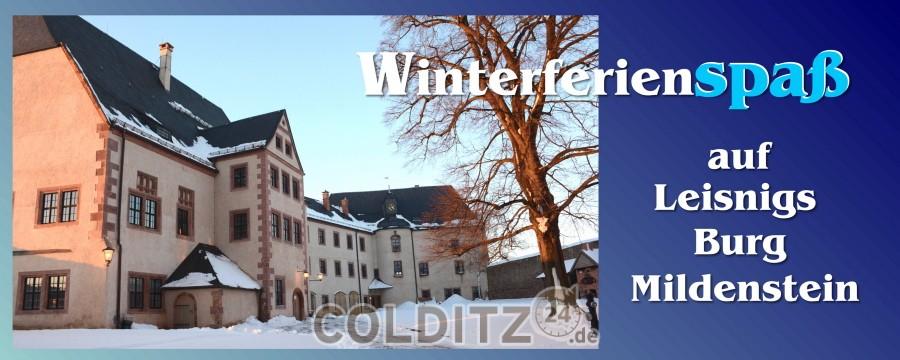 Winterferienprogramm auf Burg Mildenstein