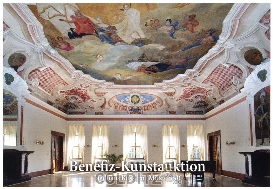 Benefiz-Kunstauktion im Jagdhaus Kössern