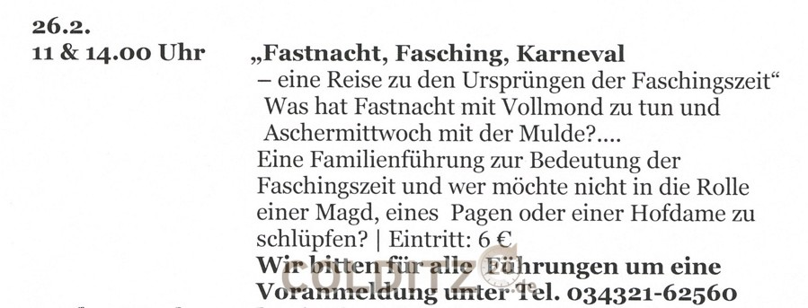 Fastnacht, Fasching, Karneval...