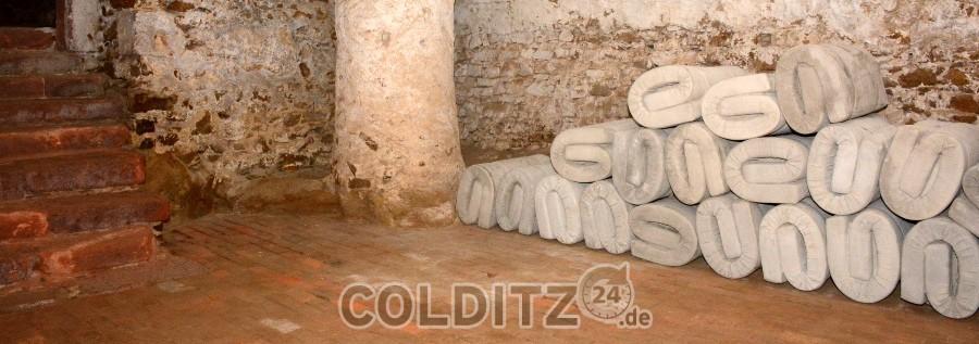 Gedenkort an die Euthanasie-Opfer im Schloss Colditz