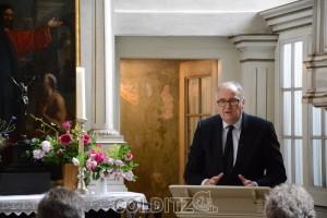 Dr Christian Striefler in seiner Festansprache zur Eröffnung