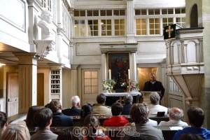 Ulrich Rottleb in seiner Ansprache