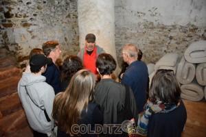 Künstler im Gespräch mit den Besuchern