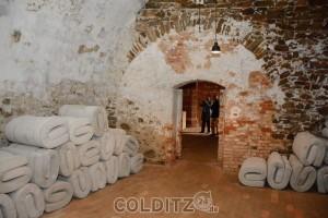 Die Kellerräume unter dem Saalhaus; Zeugen eines unrühmlichen Geschichtskapitels