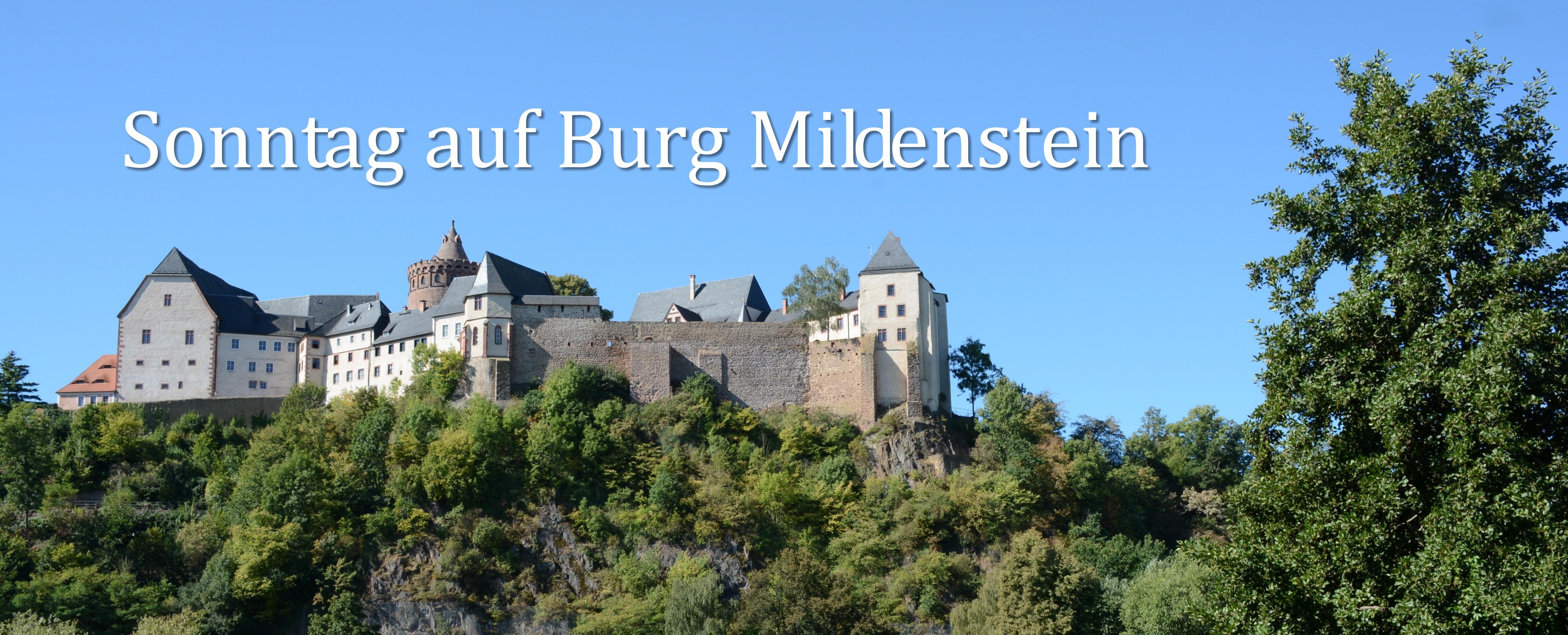 Sonntag auf Burg Mildenstein