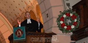 Pfarrer Andreas Illgen in seiner letzen Predigt zum Erntedank