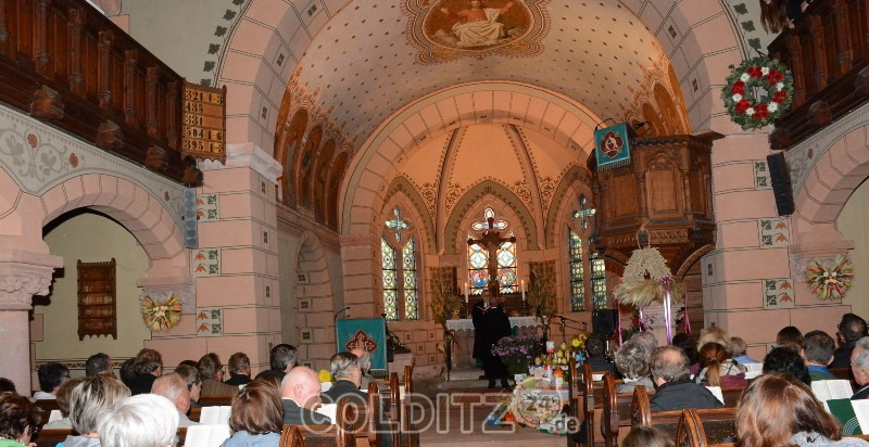 Erntedankfest mit Verabschiedung von Pfarrer Andreas Illgen