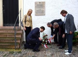 Gedenken an die Opfer des 2. Weltkrieges
