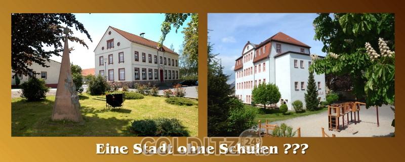 Die beiden letzten Grundschulen der Stadt Colditz