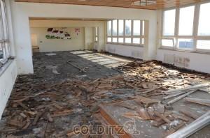 Die Aula der Bruno-Apitz-Schule