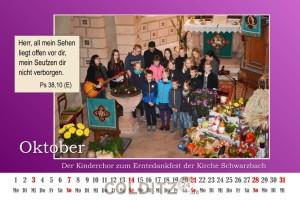 Erntedankfest in Schwarzbach