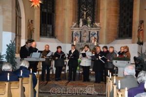 Der Kirchenchor Zschirla - Erlbach