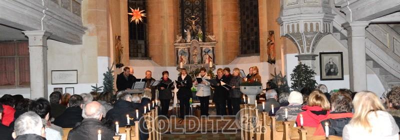 Adventsveranstaltung in der Zschirlaer Kirche